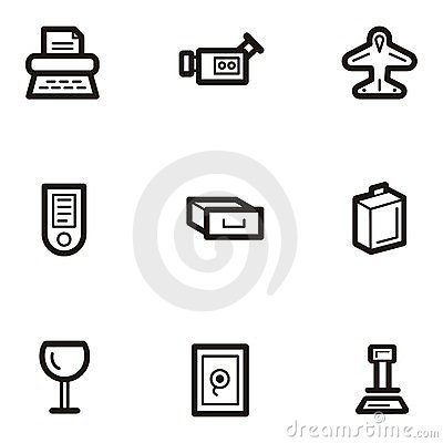 Plain Icon Series - Business