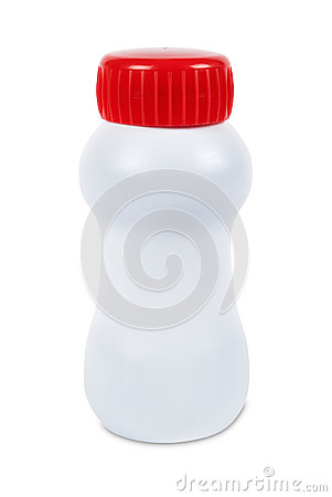 Plain plastic bottle
