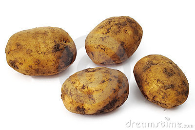 Plain potatoes