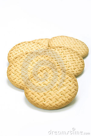 Plain tea biscuits