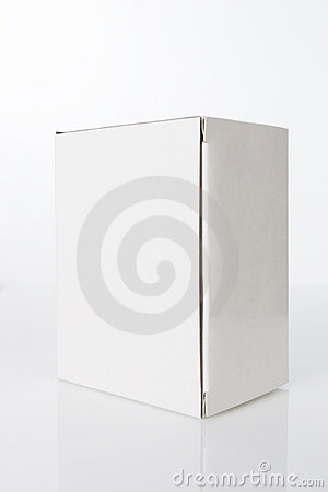 Plain White Box Royalty Free Stock Photography - Image ...