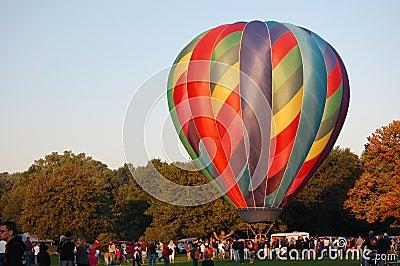 Plainville Hot Air Balloon Festival Editorial Photography