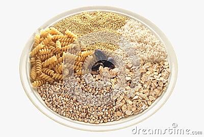 Plait with cereals
