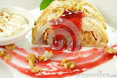 Plaited Apple Pie