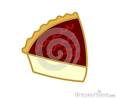 Plak van cake