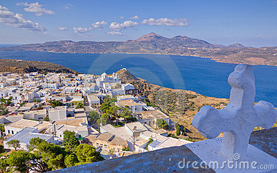 Plaka Village View, Milos Island, Greece Stock Photography - Image: 22181602