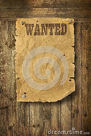 Plakat chcieć zachodni dzikiego