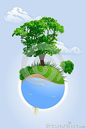 Savoir regarder la santé de la Terre Plan%C3%A8te-verte-thumb2797587