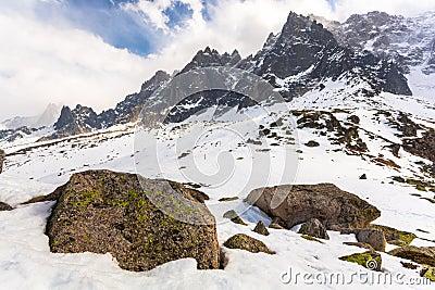 Plan de l Aiguille, Chamonix Mont Blanc, France