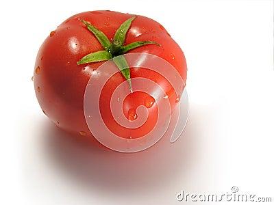 Plan rapproché de tomate