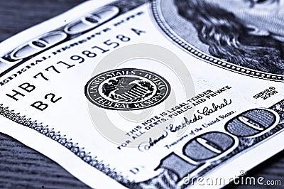 Plan rapproché 100 dollars