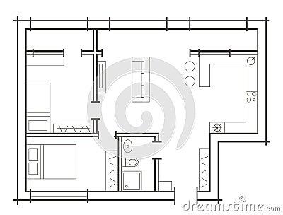 Bedroom Sketch Plan – Home Plans Ideas
