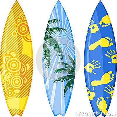 Planche de surfing