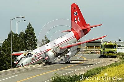 Plane Crash Editorial Stock Photo