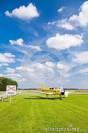 Plane at Crossroads