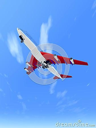 Plane Flying 65