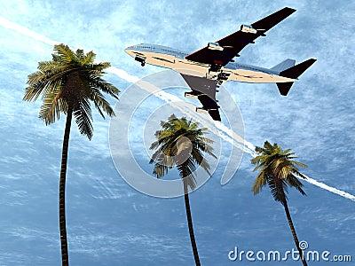 Plane Flying 8