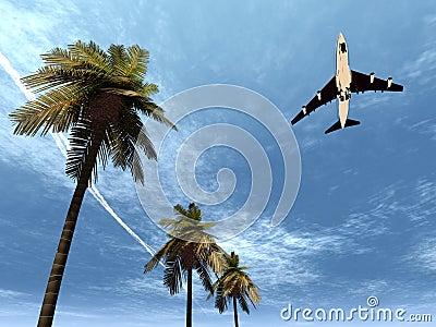 Plane Flying 9
