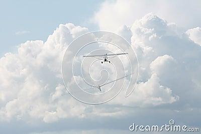 Plane and glider