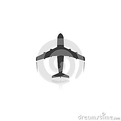 Free Plane Icon Royalty Free Stock Photography - 42922457