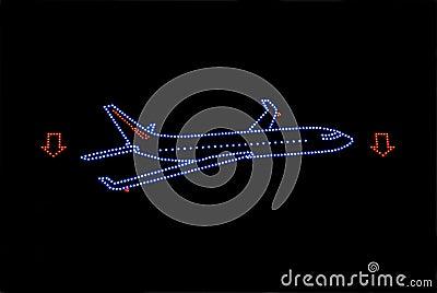 Plane neon