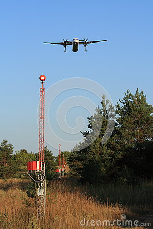 Plane Over Approach Lighting System