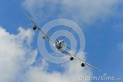 Plane s back