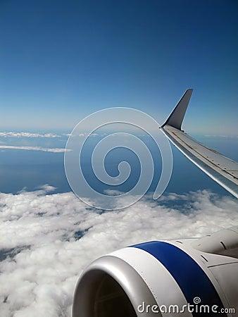 Free Plane Wing Stock Image - 1438341