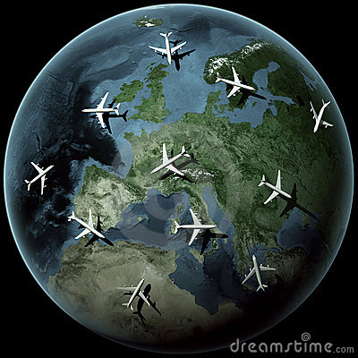 Planes over Europe