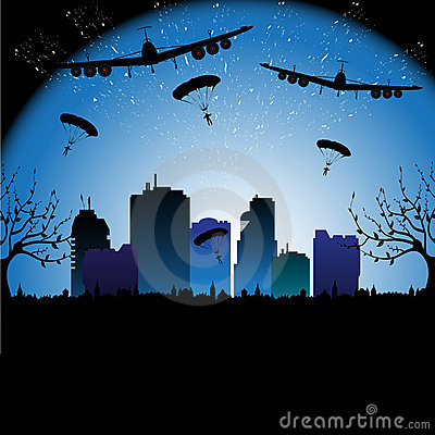 Planes and parachutes