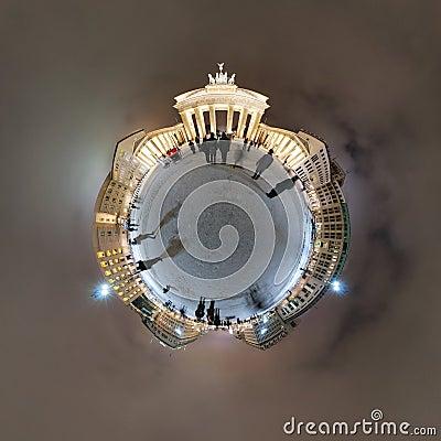 Planet Brandenburg Gate