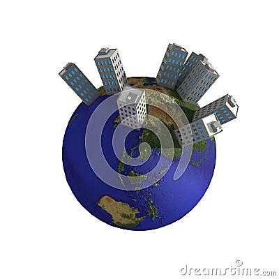 Planet Buildings