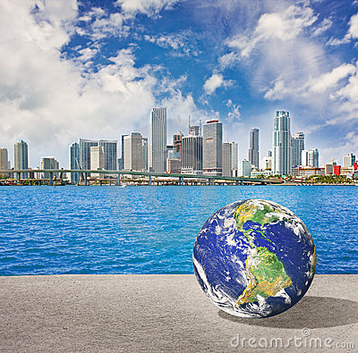 Planet Earth goes to Miami Florida