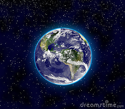 Planet Earth, Illustration Stock Photos - Image: 18256373