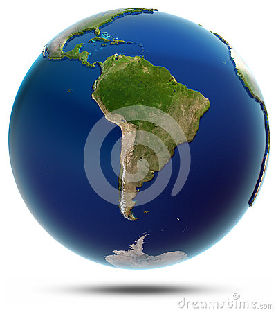 Planet Earth - South America
