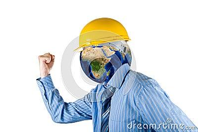 Planet head