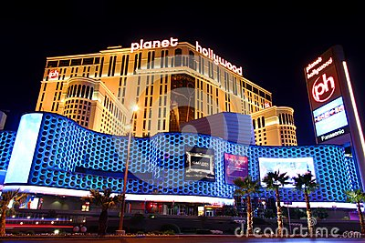 Planet Hollywood Las Vegas Editorial Stock Image