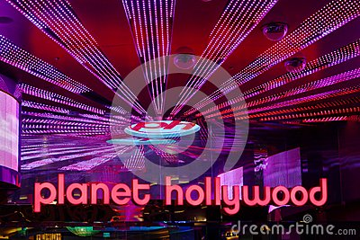 Planet Hollywood Resort and Casino Editorial Stock Image