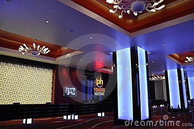 Planet Hollywood Towers Lobby - Las Vegas, USA Editorial Image
