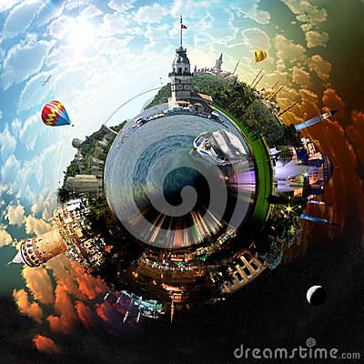 Free Planet Istanbul Royalty Free Stock Photo - 26163035