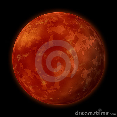 Free Planet Mars Royalty Free Stock Images - 22340269