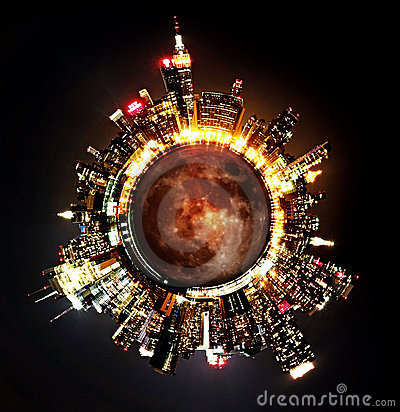 Free Planet NYC Stock Images - 17175794