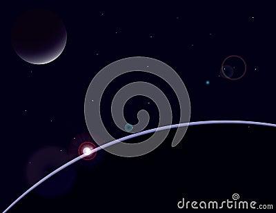 Planet scape