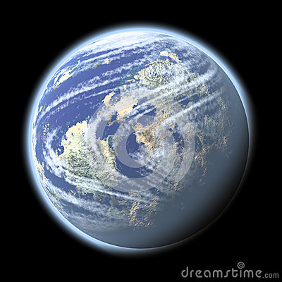 A planet in the Space