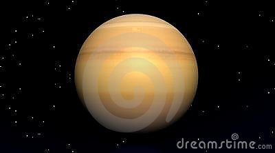 Planet in univers