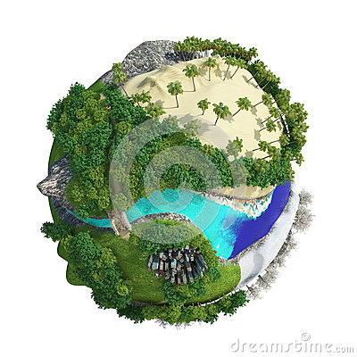 Free Planet World 3D Stock Photography - 93274432
