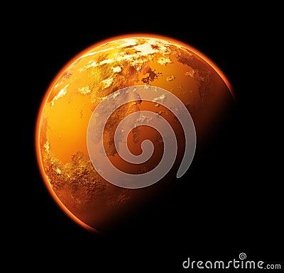 Planeta extranjero
