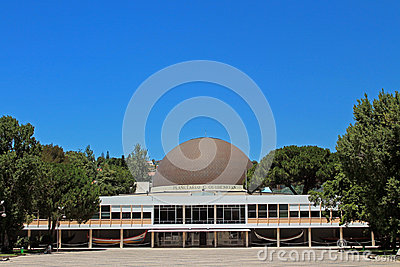 Lisbon planetarium Calouste Gulbakian Editorial Photography
