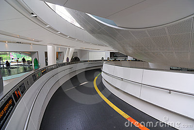Planetarium Entrance Ramp Editorial Stock Photo
