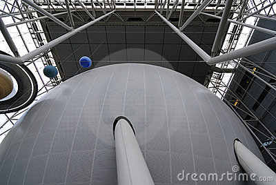 Planetarium Exterior Editorial Stock Photo